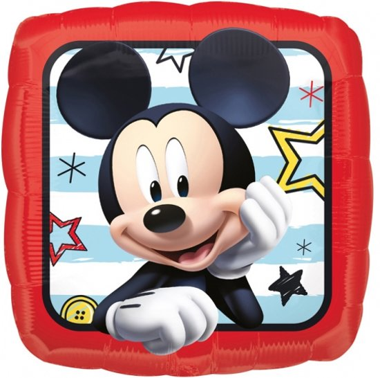 Folieballon Mickey roadster (43cm)