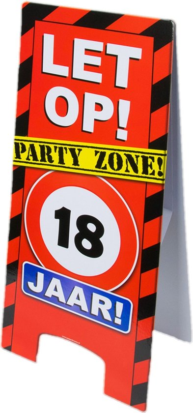 Paperdreams - Warning sign - 18 Jaar