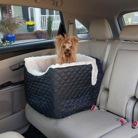 Snoozer Lookout - Autostoel - Autozitje voor honden - Small 48 x 38 x 43 cm - Zwart