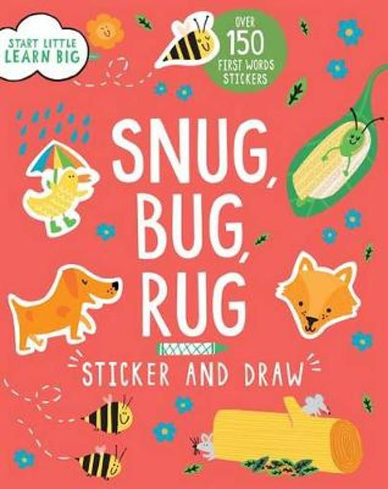 Snug Bug Rug Sticker And Draw