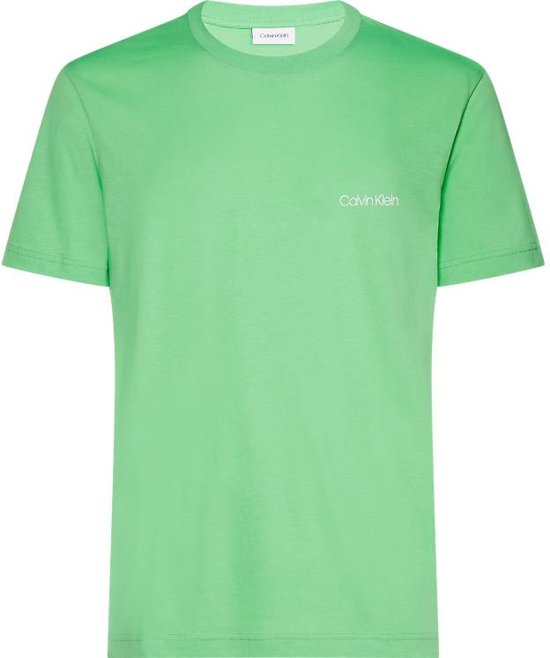 d1c8d9bf92f bol.com | Calvin Klein t-shirt lime groen (K10K103307 - 332) - S