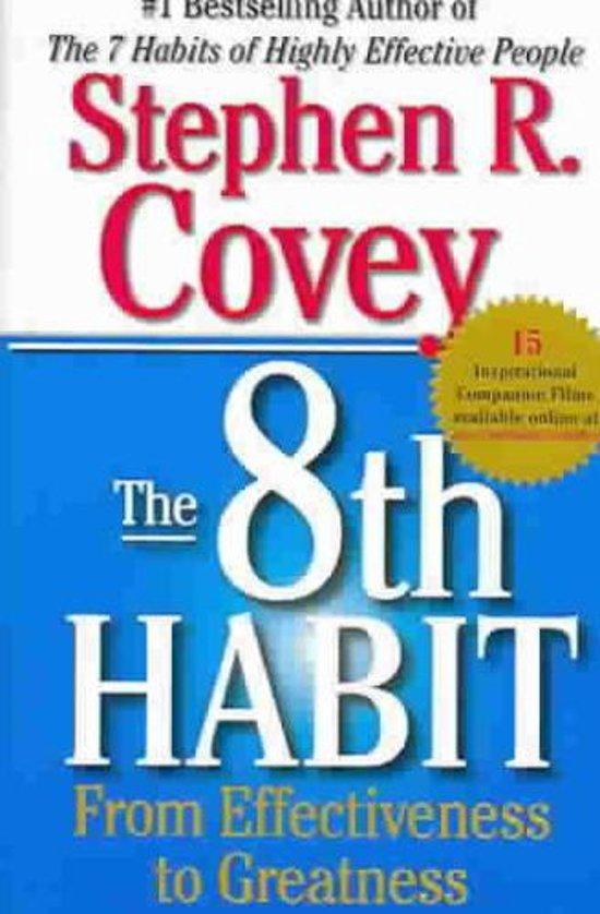 Boek cover 8th Habit van Stephen R. Covey (Paperback)