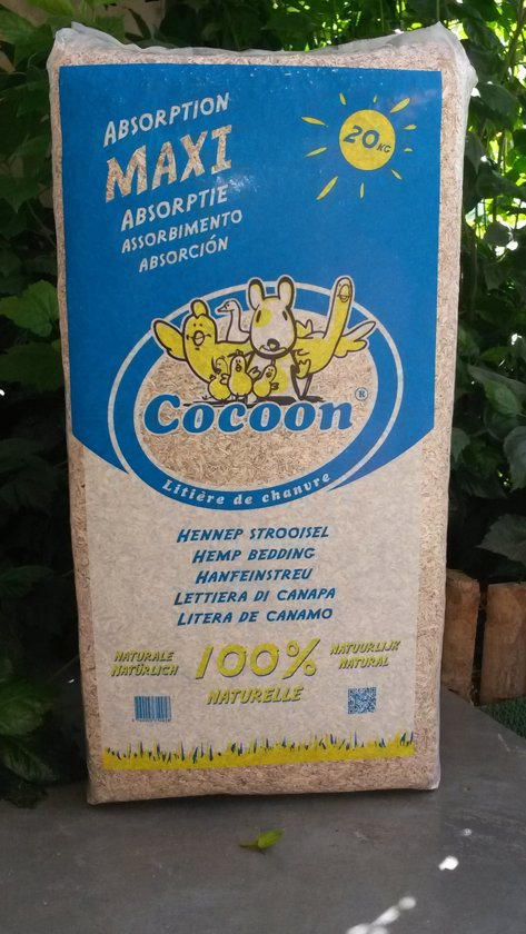 Cocoon Hennepstro Bodembedekker - 20 kg