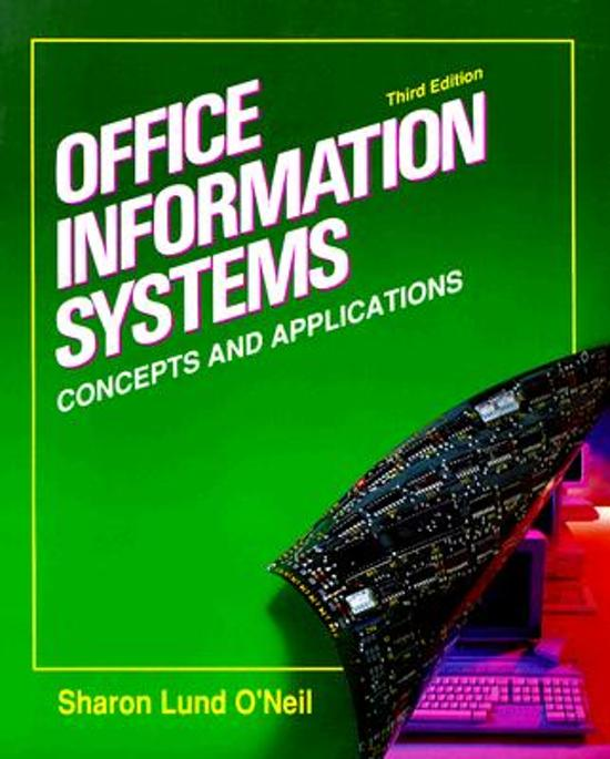 Office Information Systems