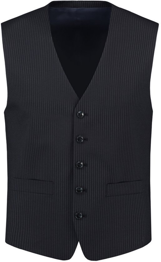 Tricorp Heren gilet - Corporate - 405004 - Navy-Gestreept - maat 28