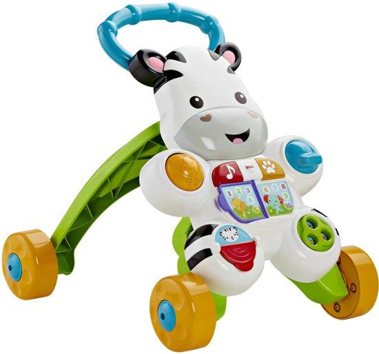 Afbeelding van Fisher-Price Loop Met Mij Zebra - Looptrainer speelgoed