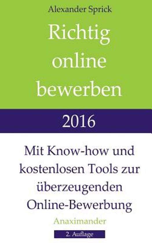 richtig online bewerben 2016 - Bewerbung Richtig