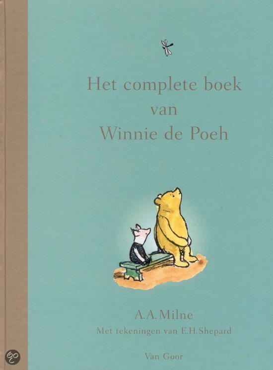 Boek cover Het Complete Boek Van Winnie De Poeh van A.A. Milne (Hardcover)