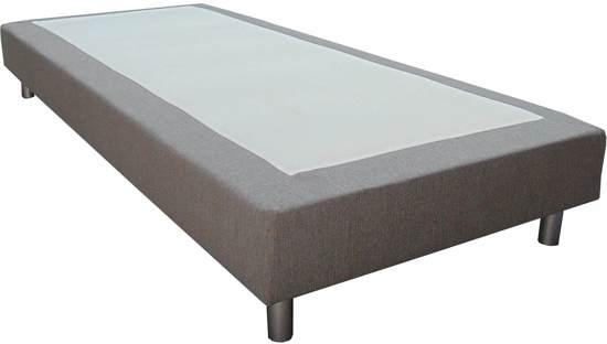 Slaaploods.nl Basic - Boxspring exclusief matras - 90x200 cm - Grijs
