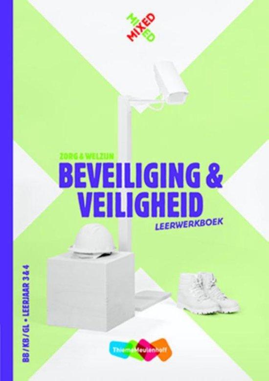Mixed vmbo Beveiliging veiligheid Leerwerkboek Startlicentie