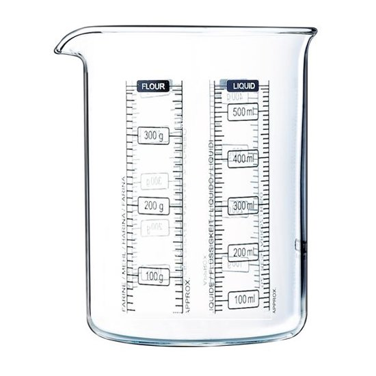 Pyrex Kitchen Lab Maatglas - 50 cl