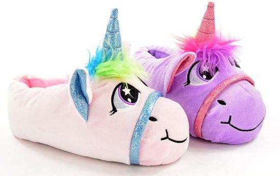 sinterklaas voor volwassenen met unicorn sloffen