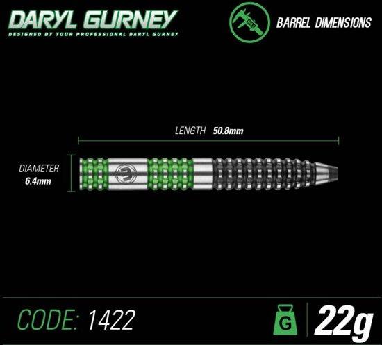 Daryl Gurney 90% Tungsten green