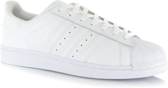 adidas Superstar FOUNDATION Heren Sneakers - Ftwr White/Ftwr White/Ftwr  White - Maat 42