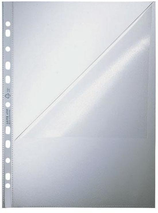 Leitz Hoge Kwaliteit Showtas - A4 - 0,09 mm - 11-gaats - 100 stuks - Transparant