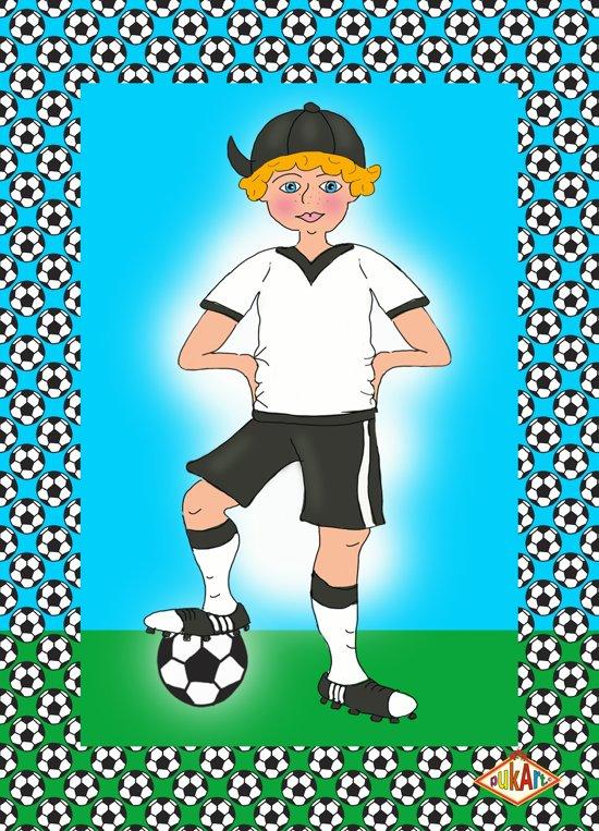 Bol Com Uitnodiging Kinderfeestje Kinderkaarten Voetbal