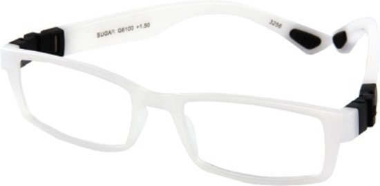 Leesbril INY Sugar G6100 wit-+1.00