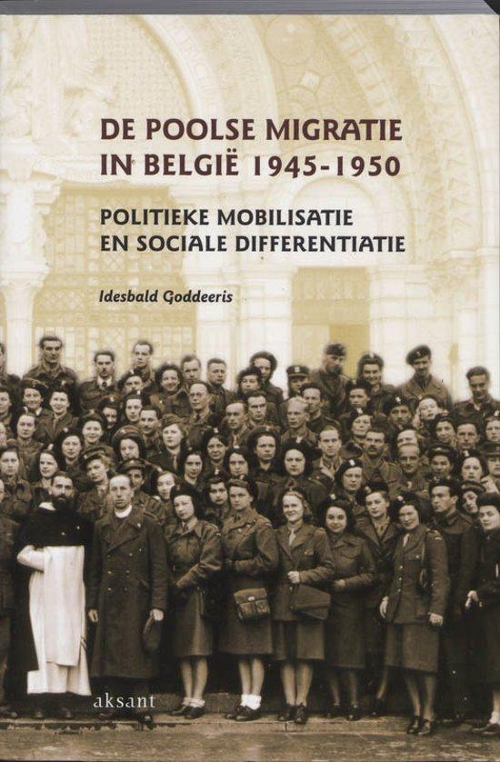 De poolse migratie in Belgie 1945-1950
