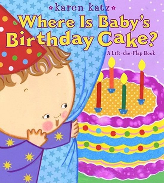 Marvelous Bol Com Where Is Babys Birthday Cake Karen Katz Funny Birthday Cards Online Sheoxdamsfinfo