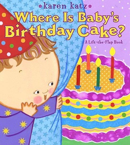Phenomenal Bol Com Where Is Babys Birthday Cake Karen Katz Personalised Birthday Cards Paralily Jamesorg