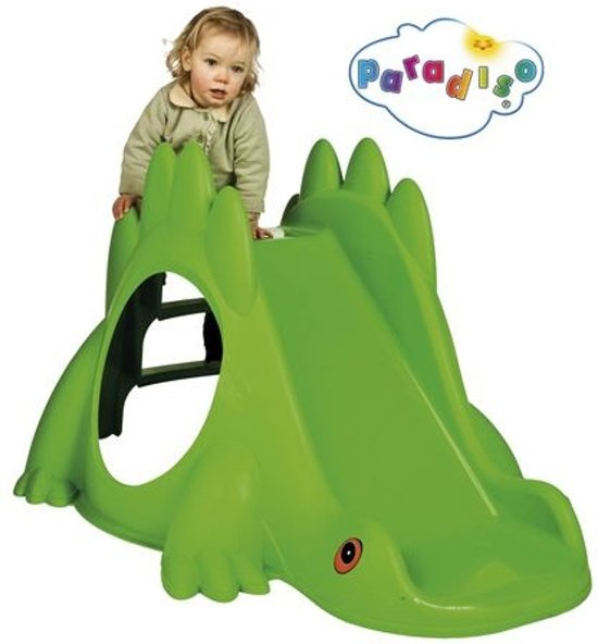 Dinosaurus Glijbaan - Groen