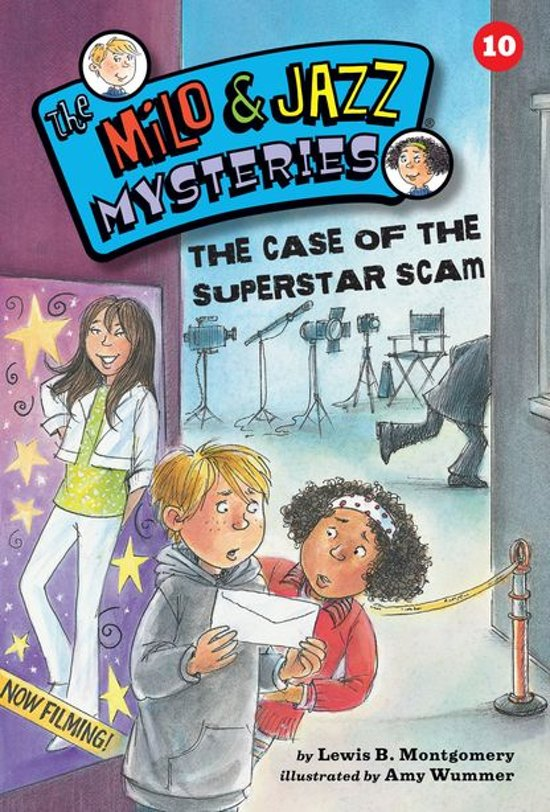 The Case of the Superstar Scam (Book 10)
