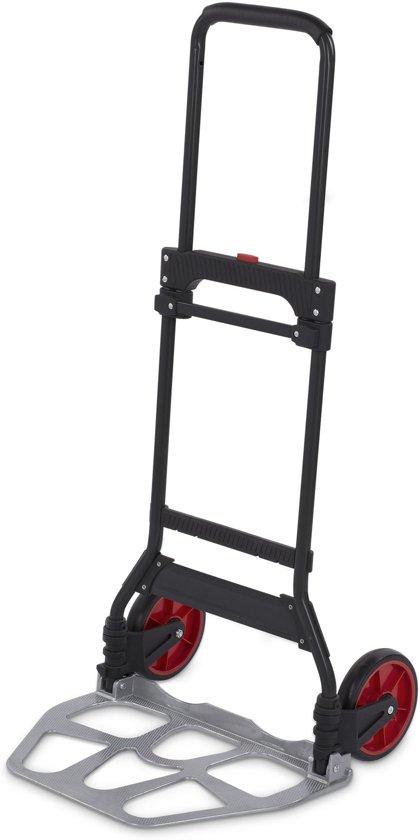Kreator KRT670204 Opvouwbare steekwagen - 120 kg - Staal
