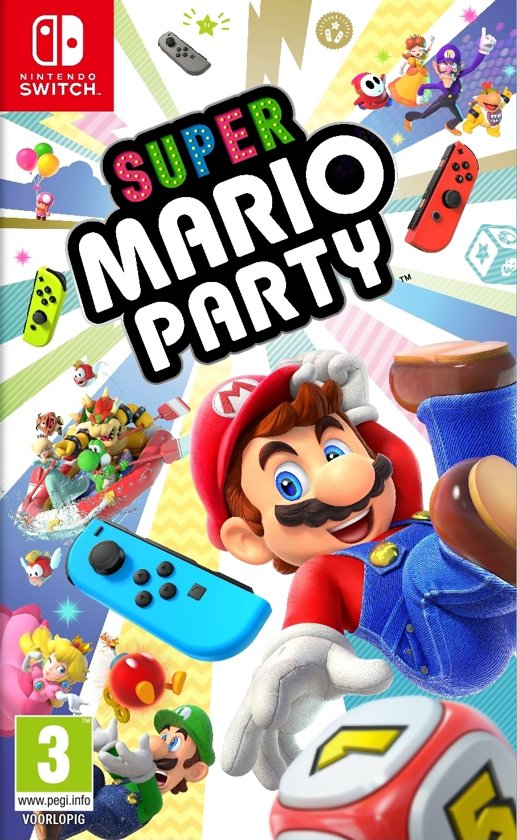 Cover van de game Super Mario Party - Switch