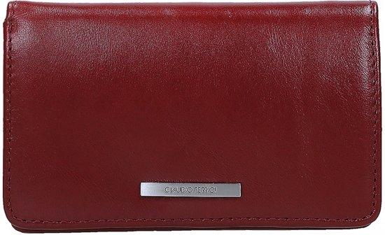 Claudio Ferrici Classico portemonnee red