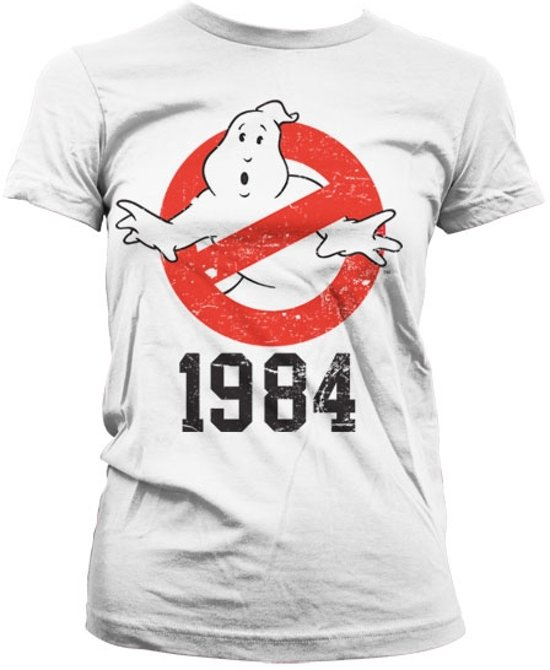 Ghostbusters - t-shirt 1984 girly - white (s)