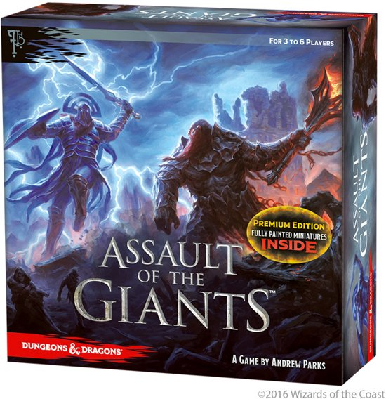 Dungeons & Dragons Assault of the Giants Board Game Premium Edition