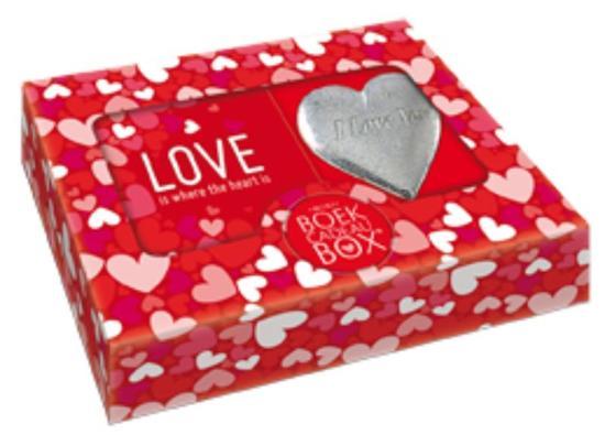 BoekCadeauBox Mini - Love is where the heart is