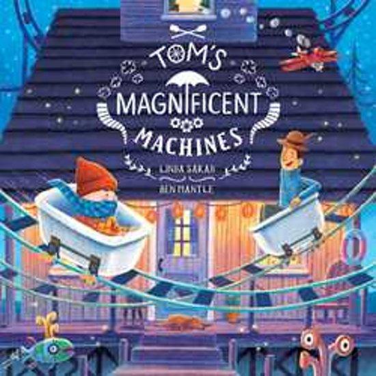 Boek cover Toms Magnificent Machines van Linda Sarah (Paperback)
