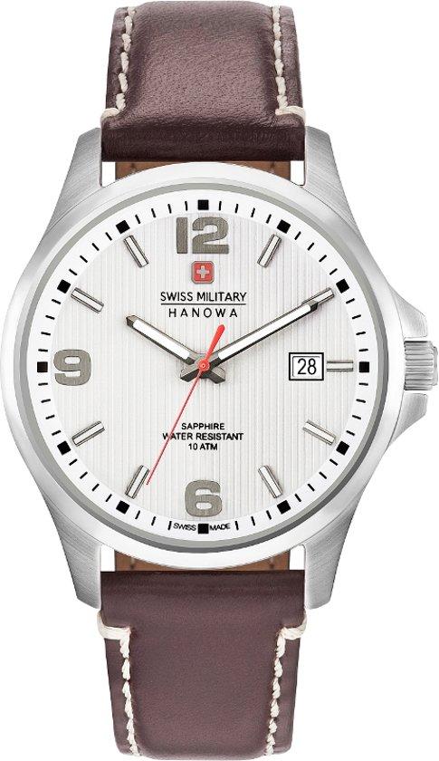 SWISS MILITARY HANOWA Observer White horloge 06-4277.04.001