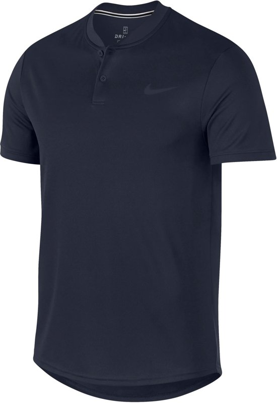 Nike Court Dry Blade Polo Heren Sportpolo Maat XXL Mannen blauw