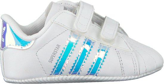 7717f3a2313 bol.com | Adidas Meisjes Babyschoenen Superstar Crib - Wit - Maat 18