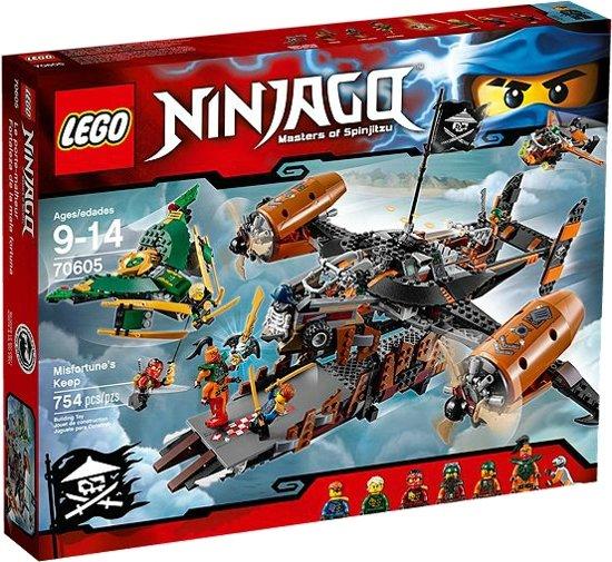 LEGO NINJAGO Misfortune's Keep - 70605