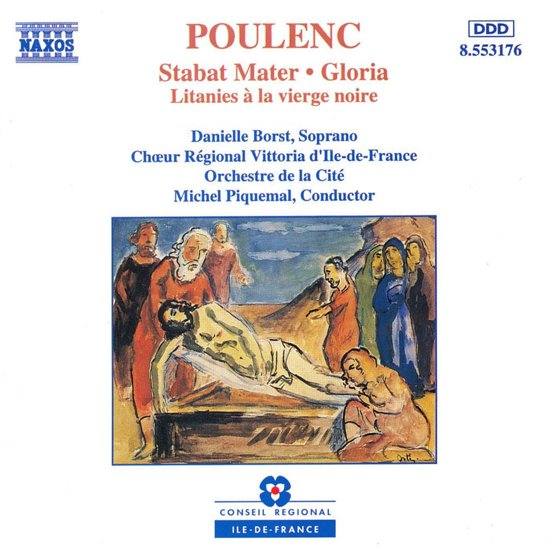 Poulenc: Stabat Mater, Gloria, Litanies / Borst, Piquemal