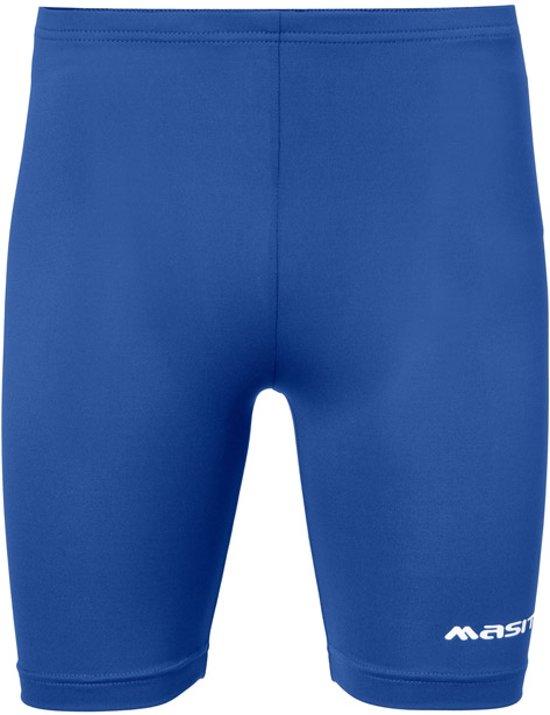 Masita Tight - Voetbalbroek - Kinderen - Maat 164 - Blauw