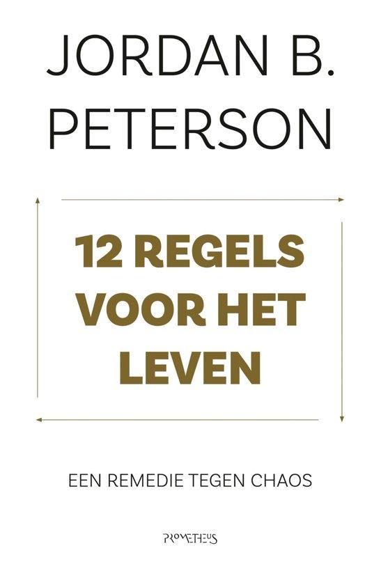 Boek cover 12 regels voor het leven van Jordan Peterson (Onbekend)