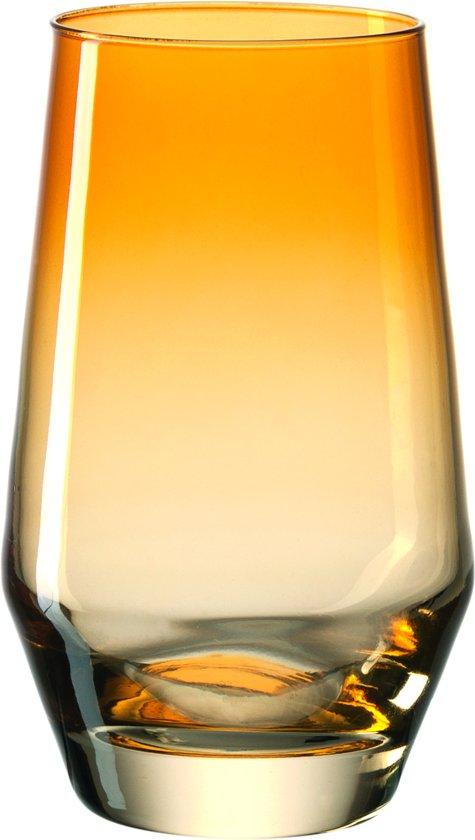 Leonardo Puccini - Longdrinkglas - amber - 6 stuks