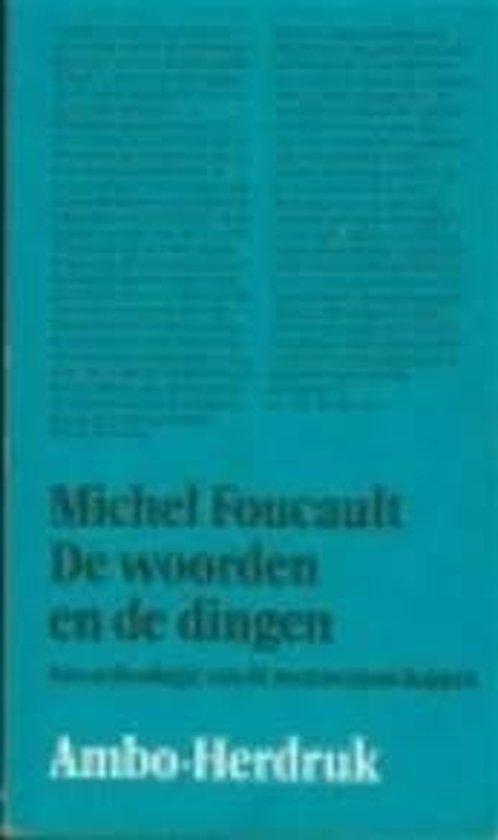 Bolcom Woorden En De Dingen 9789026330186 Michel