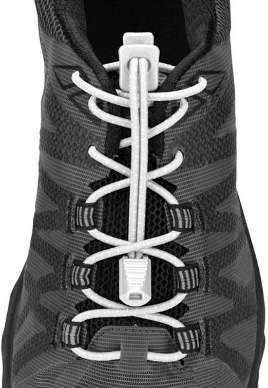 Nathan Run Laces White - Veters