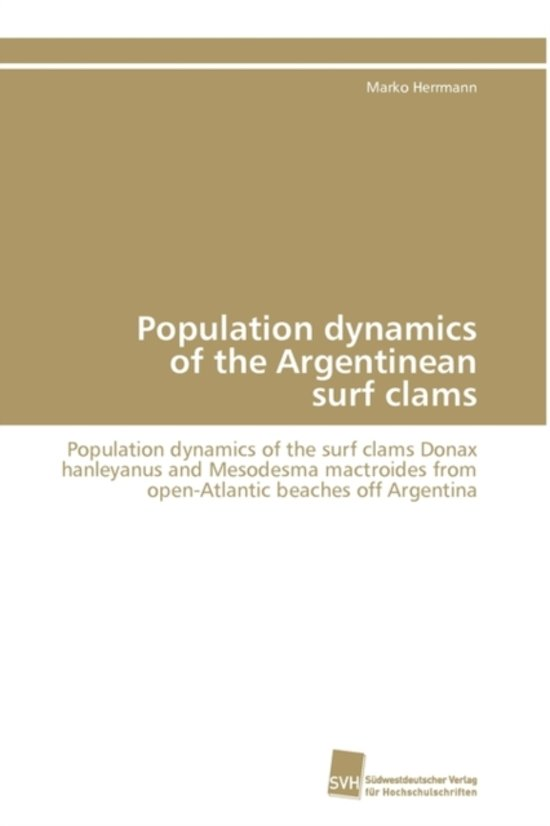 Population Dynamics of the Argentinean Surf Clams