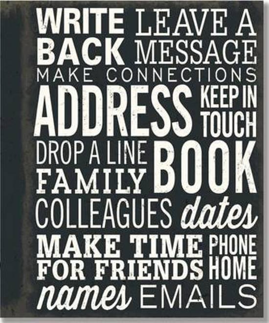 Making Connections adresboek