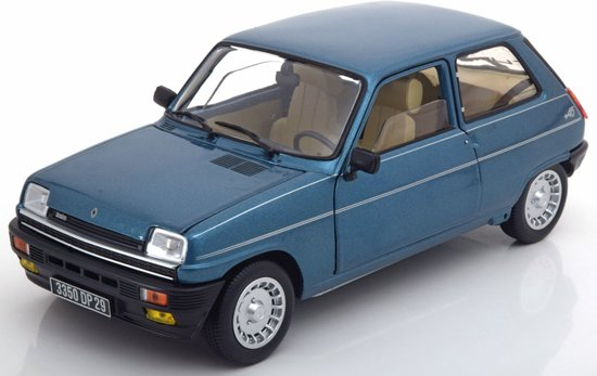 Renault 16 1986 1:18 grey Metallic Norev