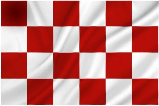 Dit is namelijk de Brabantse vlag:
