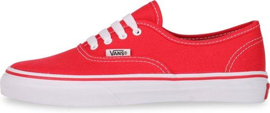 Vans - Unisex Sneakers Authentic - Rood - Maat 32