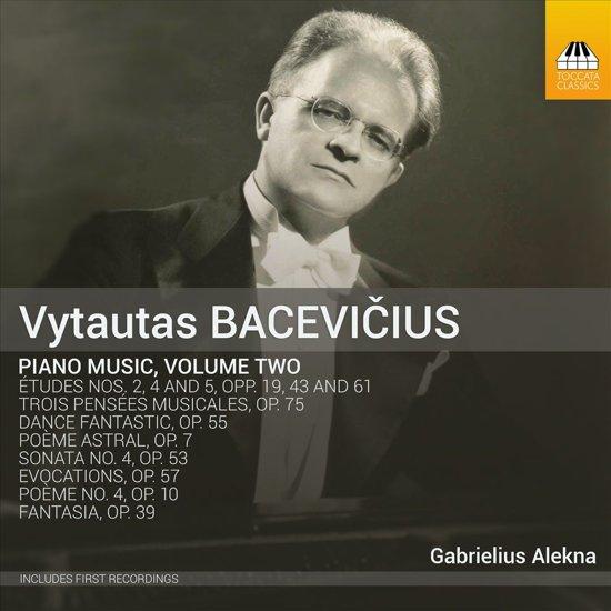 Bacevicius: Piano Music Vol.2