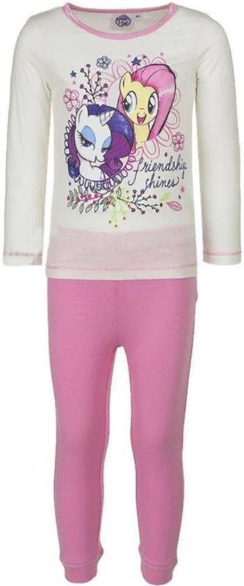My Little Pony pyjama maat 104 roze/wit